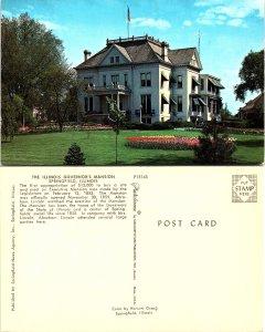 The Illinois Governor's Mansion, Springfield, Illinois