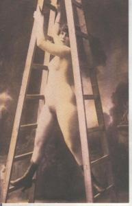 Postal 014923: Postal tematica erotica de principio siglo XIX
