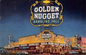 Golden Nugget Gambling Hall Las Vegas, NV., USA Casino 1954