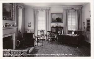 New York Hyde Park Franklin D Roosevelt Memorial Library Roosevelt's Study Re...