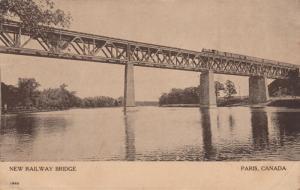 PARIS , Ontario , 1912 ; New Railway Bridge