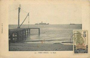 Gabon Port-Gentil TCV stamp postcard