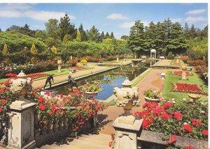 Dorset Postcard - The Italian Garden in Mid-Summer, Compton Acres, Poole  LSL795