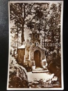 c1954 RPPC - Les Vauxbelets Chapel, Guernsey