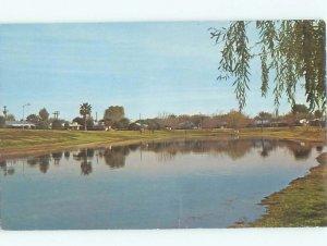 Pre-1980 LAKE SCENE Youngtown - Near Glendale & Phoenix Arizona AZ AE4088