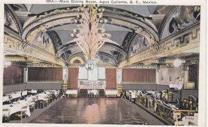 AGUA CALIENTE , B.C. , Mexico , 1910s ; Main Dining Room
