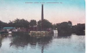 INDEPENDENCE, Iowa, PU-1908; Electric Light Plant