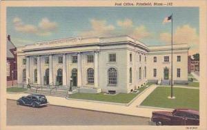 Massachusetts Pittsfield Post Office