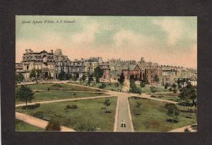 NB Queen Square St John New Brunswick Canada Carte Postale Postcard Vintage PPC
