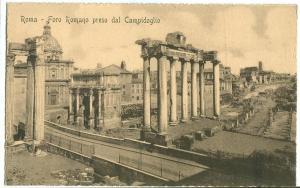 Rome, Roma, Foro Romano preso dal Campidoglio, 1930 used