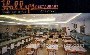 St Petersburg Florida USA Hollys Restaurant Unused