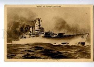 213905 WWI FRANCE NAVAL FLEET cruiser DUNKERQUE Old postcard