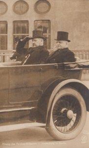 RP ; German politician , Furst Bismarck in car , 00-10s
