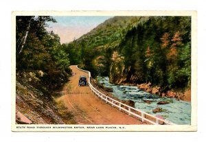 NY - Lake Placid. State Road Through Nearby Wilmington Notch