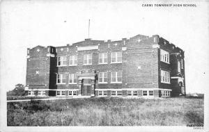 1920s Carmi Township High School WHITE CITY ILLINOIS RPPC postcard 831