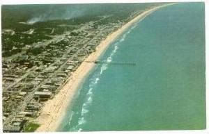 Aerial view of Myrtle Beach 1950-60s
