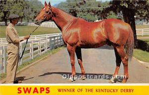 Swaps, Winner of the Kentucy Derby Lexington, Kentucky, KY, USA Unused