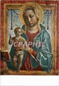 Postcard Modern Vincenzo Foppa Madonna col Figlio Milano Museo D'Arte Antica ...