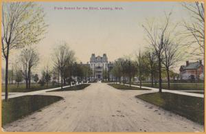 Lansing, Mich., State School for the Blind - 1909