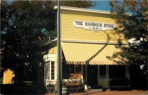 Vermilion Ohio~The Harbour Store~built 1847~1970s Postcard