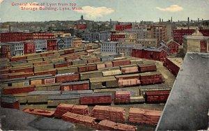 Central View of Lynn from top Storage Building Lynn, Mass., USA Massachusetts...