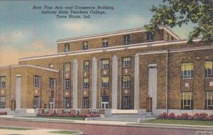 Indiana Terre Haute New Fine Arts & Commerce Building Indiana State Teach...