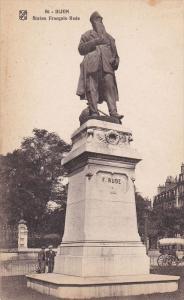 Statue Francois-Rude, DIJON (Cote d'Or), France, 1900-1910s