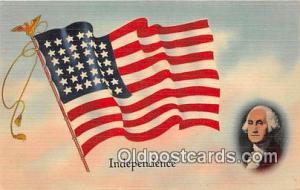 Independence  Patriotic Postcard Post Card Postcard Post Card Independence