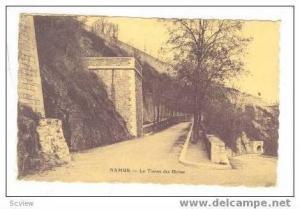 NAMUR - Le Tienne des Biches, Belgium, PU 1925