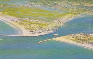 Rhode Island Matunuck Galilee Aerial View