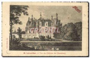 Old Postcard Chambord Castle View From Maggi