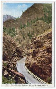 Phantom Canyon Highway, Colorado, Curved Bridge