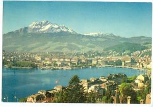 Switzerland, Luzern und Pilatus, Lucerne and Mount Pilatus, 1956 marked unused
