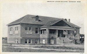 SUPERIOR , Nebraska , 1900-10s ; American Legion Building