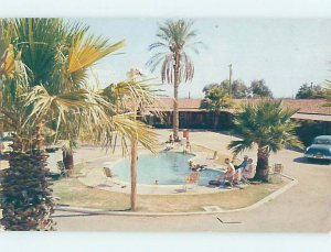 Pre-1980 LODGE MOTEL SCENE Gila Bend - Near Phoenix Arizona AZ AE0619
