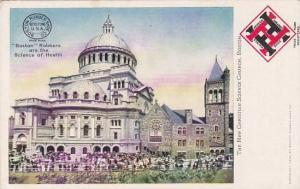 Massachusetts Boston The New Christian Science Church