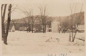 RP: SPRINGFIELD , Vermont , 1927 ; Flood Disaster #1