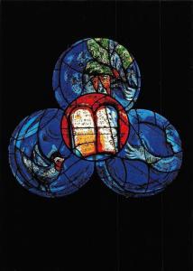 Marc Chagall's Windows God's Word God's Love, Pfarrkirche St. Stephan Mainz