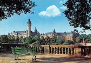 Luxembourg Caisse d'Epargne et Siege de la C E C A Panorama