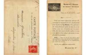 CPA publicité - MASSON & Cie (308078)