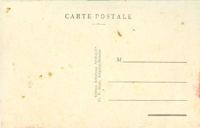 France, Avignon, Palais des Papes, Façade Occidentale, ea...