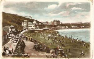 Scarborough. Spa and Bathing Huts Tuck Art Super Glosso Ser.PC #  8185
