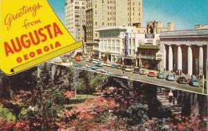 Scenic Greetings from Augusta, Georgia, 40-60s