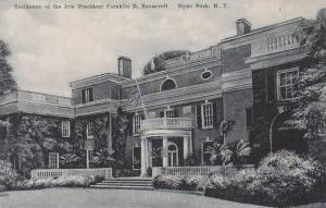 New York Hyde Park Residence Of Late President Franklin D Rosevelt Albertype