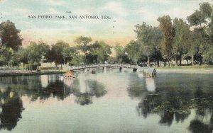 SAN ANTONIO , Texas , 1910 ; San Pedro Park