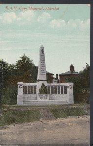 Hampshire Postcard - R.A.M.Corps Memorial, Aldershot     BT307