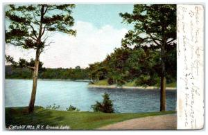 1907 Green Lake, Catskill Mountains, NY Postcard