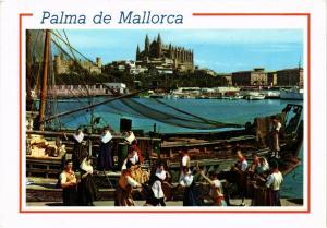 CPA Espagne-Mallorca-Palma de Mallorca-La Cathedrale et La Lonja (323379)