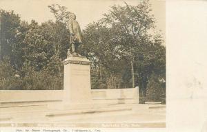 C-1905 Morten Monument Postcard Nebraska City Nebraska Olsen RPPC 12544