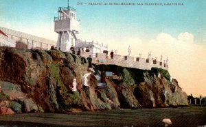California San Francisco Parapet At Sutro Heights